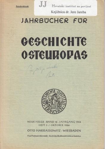 Križanić's Memorandum / Ante Kadić.