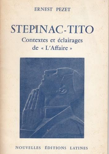 Stepinac - Tito : contextes et eclairages de
