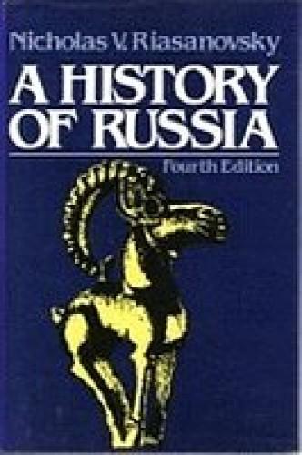 A history of Russia / Nicholas V. Riasanovsky.