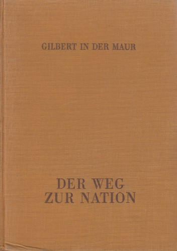 Der Weg zur Nation; Jugoslawiens Innenpolitik 1918-1938, Stojadinovic als Vollstrecker / Gilbert in der Maur.