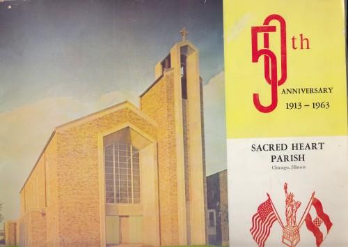 50th Golden Jubilee of the Sacred Heart Parish 1913-1963 = Pedeset godišnjica hrvatske župe Presvetog Srca Isusova 1913-1963 / Myron Lasic O.F.M..