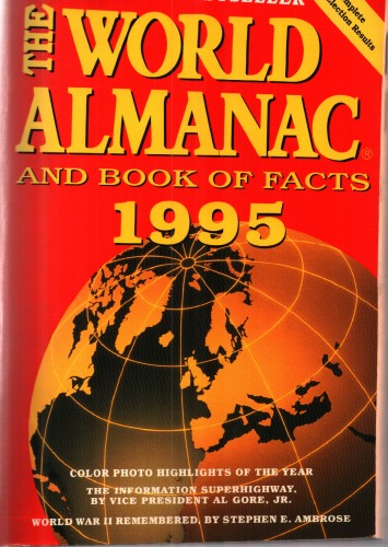The world almanac and book of facts 1995.