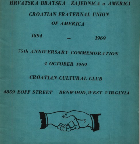 Croatian Fraternal Union of America : 1894 - 1969 / [John Ovcarich].