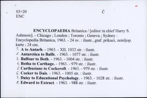 Encyclopedia Britanica / Harry S. Ashmore