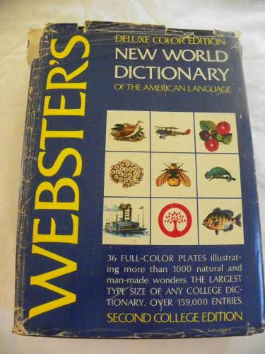 Webster's New world dictionary of the American language / David B. Guralnik, editor in chief.