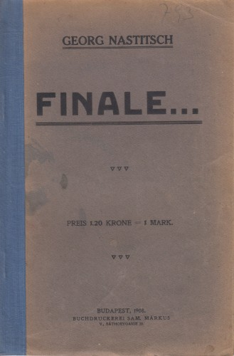 Finale...